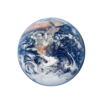 Anthropocene Alliance - Logo, Image of Earth, Link to Home Page