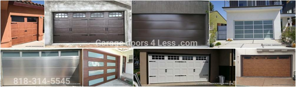 Garage doors 4 less in winnetka california for Professional garage door montrose