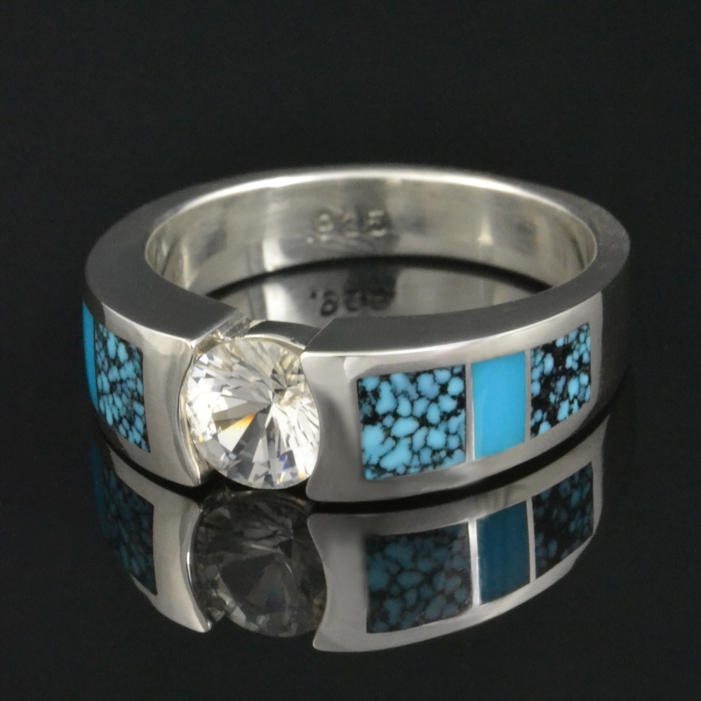 engagement rings turquoise wedding ring Turquoise Engagement Rings Turquoise Engagement Rings And Wedding Rings