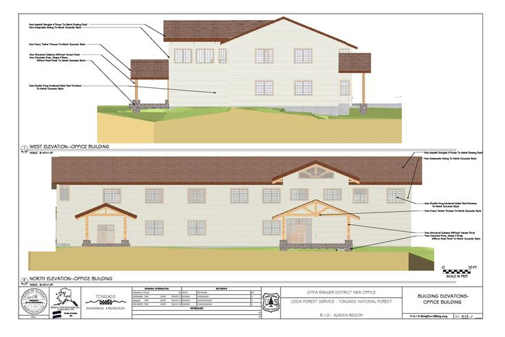 Sitka Ranger District New Office Design for the United States ...