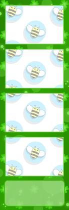 Bumblebee Booths Photo Strip sample #48