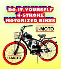 DIY 4-STROKE MOTORIZED BIKES