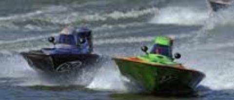Setup tips for racing circle track bass boat racing for Circle fishing boat