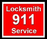 Locksmith 911 Service Logo 1