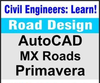 Learn Softwares Mx Road Design Autocad Primavera Ms Project In Delhi Gaya Ghaziabad Gurgaon Bihar Uttar Pradesh