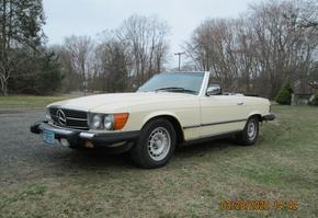 1984 Mercedes Benz 380 SL