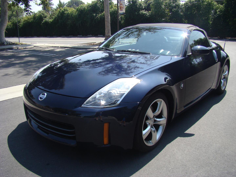 2007 Nissan 350z Darkblue Roadster