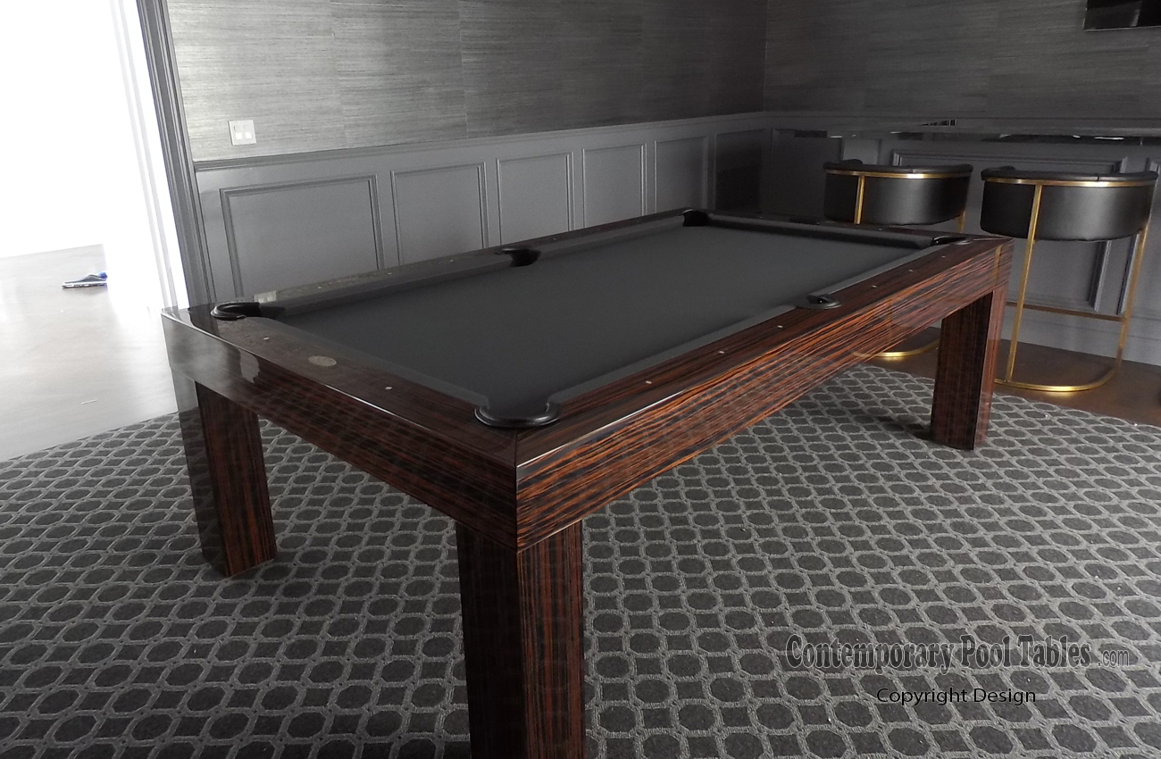 Modern Pool Tables Contemporary Pool Tables Modern Pool Table - How wide is a pool table