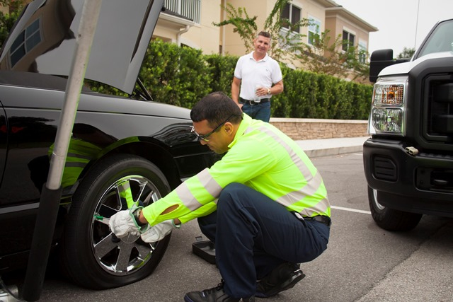 Mobile Tire Repair Replacement Service From Mobile Auto Truck Repair