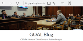 Link to GOAL Blog Newss story about Westminster Rod & Gun