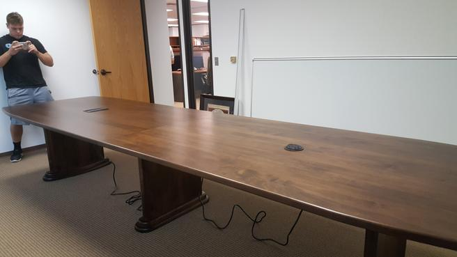 Amish Made Conference Table