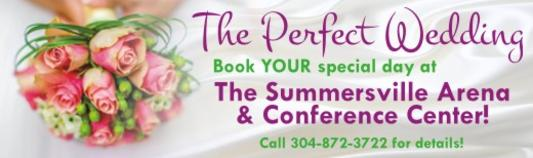 The Perfect Wedding at Summersville Arena & Conference Center