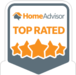 Top Rated by Home Advisor