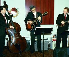 Jazz Trio performing at a Nashville Christmas Party.