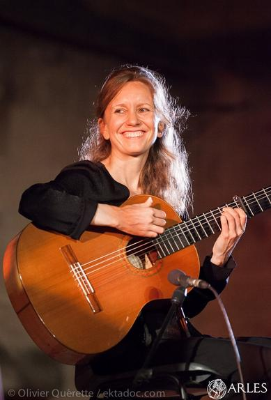 classical guitar teacher Leah has been performing and teaching for twelve years