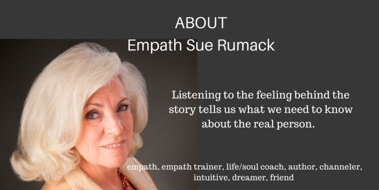 About Empath Coach Sue Rumack Audio Message