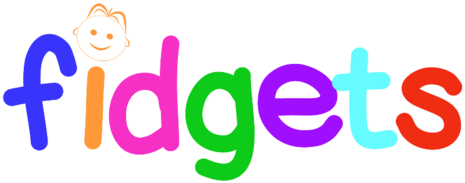 Fidgets Indoor Playground Party Place Logo