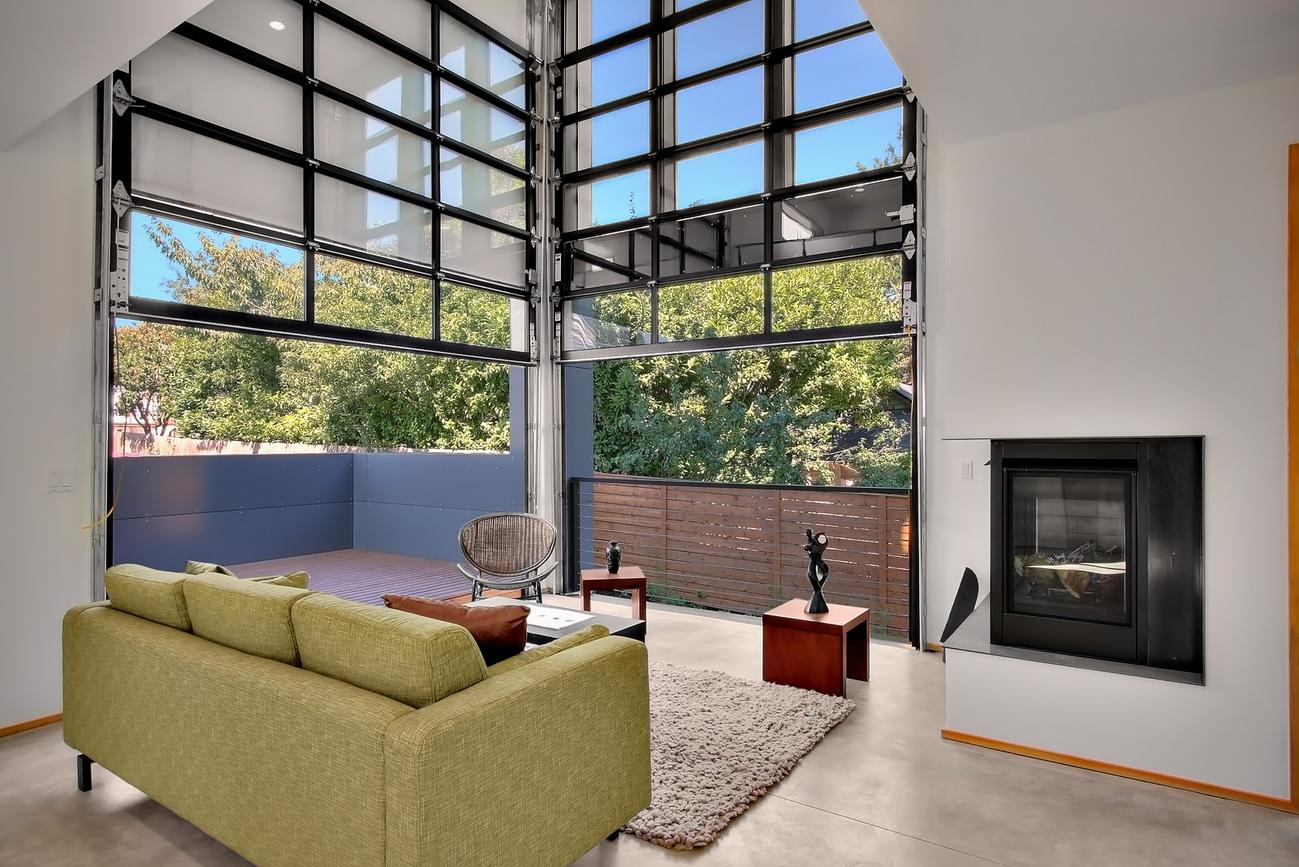 glass garage doors phoenix az modern glass garage doors
