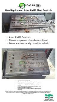 PC008 Astec PM96 Plant Controls
