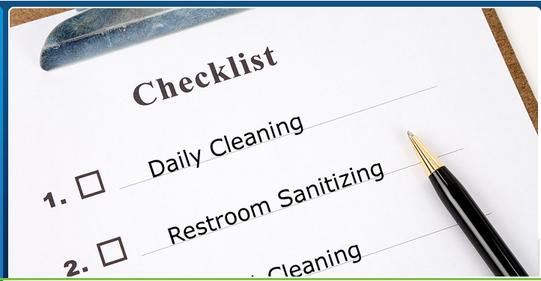 OFFICE CLEANING CHECKLIST FROM RGV JANITORIAL SERVICES