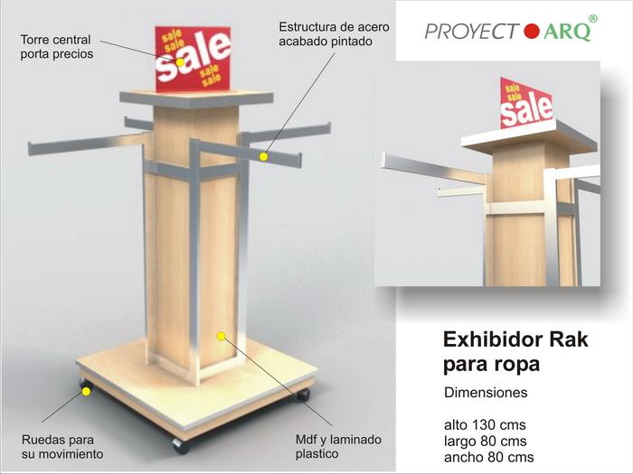 Muebles Para Tienda: Muebles para tiendas exhibidores negocios en el distrito...