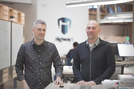 Brady Forrest and Kurt Dammermann at the san francisco hardware startup accelerator highway1