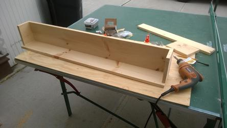 DIY Secret Compartment Floating Shelf. Easy to but together with limited tools. www.DIYeasycrafts.com