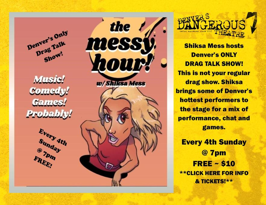 tickets for The Messy Hour at Dangerous Theatre