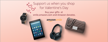 Amazon Smile donation Valentine