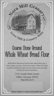 Nora Mill Course Stone Ground Whole Wheat Bread Flour