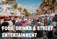 Miami Events; Miami Beach; Art Deco; Weekend Festival; Outdoor Activities; Food Music Entertainment
