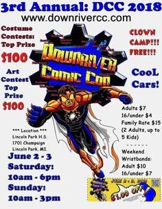 downriver, comic con,