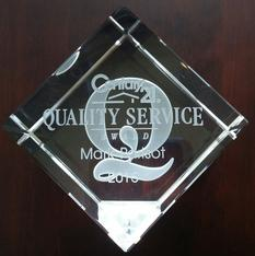 Quality Service Award Recipient