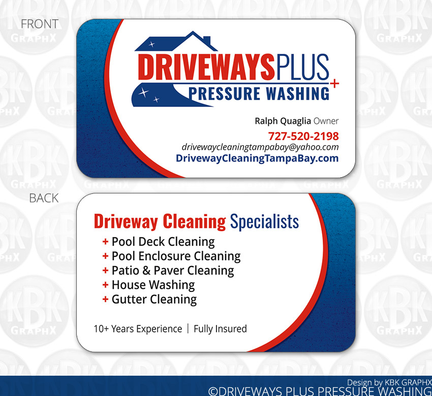 Business Card Design & Printing Services from KBK GraphX
