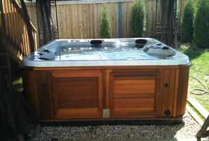 We buy and sell used hot tubs