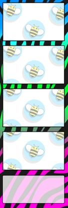 Bumblebee Booths Photo Strip sample #27