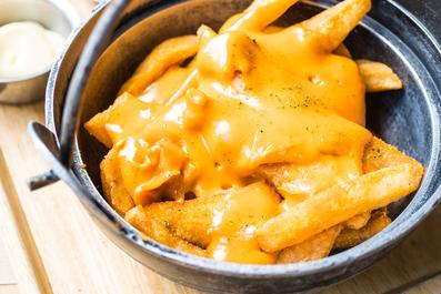 Vegan and plant based cheese sauce