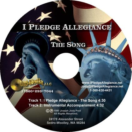 Pledge of Allegiance Words - I Pledge Allegiance To The Flag
