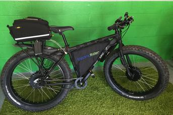 2 wheel drive electric bike
