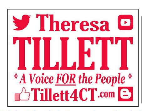 Tillett for CT Yard Sign