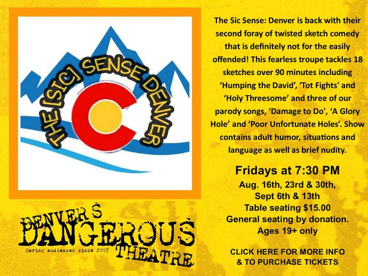 sic sense at dangerous theatre tickets