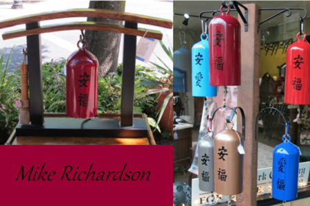 handcrafted bells, mike richardson