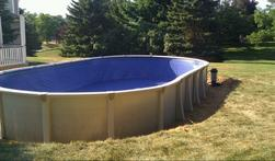 18x33 Aqua Leader Above Ground Pool New Installation