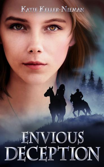 Envious Existence, Katie Keller-Nieman, The Envious Series, Hush, Blonde girl with knife, Fantasy Romance, Strong Female Lead