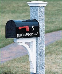 Mailbox installation and repair Wayland MA  Posts & Boxes