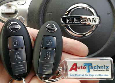Nissan replacement remote proximity car keys