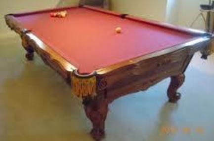 Brunswick Tables - Italian pool table