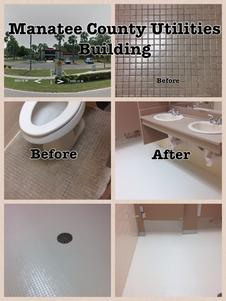 Home - Can you reglaze floor tile