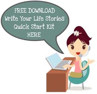 write your life stories quick start kit free course
