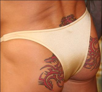 Spandex bikini for men